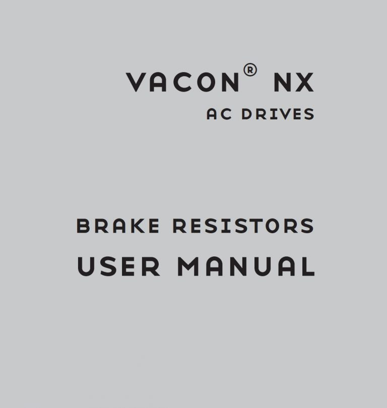 Vacon-NX-Brake-Resistor